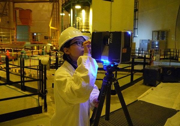 核电厂等环境大空间三维激光扫描亿博手机客户端下载